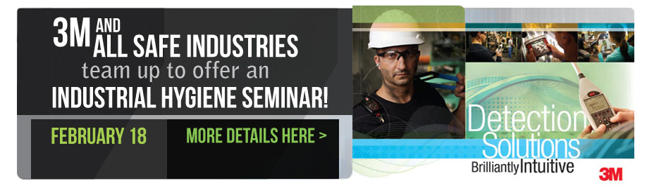 3M Industrial Hygiene Seminar - February 18, 2015 - Indianapolis, IN