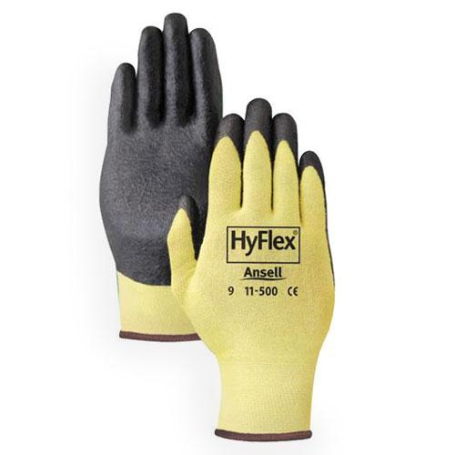 Hyflex Kevlar Glove Cut Resistant 11 500 Ansell