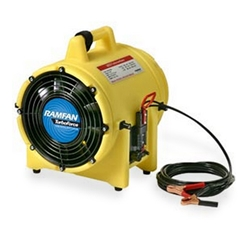"8"" 1/3HP Confined Space Blower-Exhauster 862 CFM"