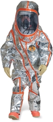 Frontline 500 NFPA 1991 Certified Single Skin Protection Suit