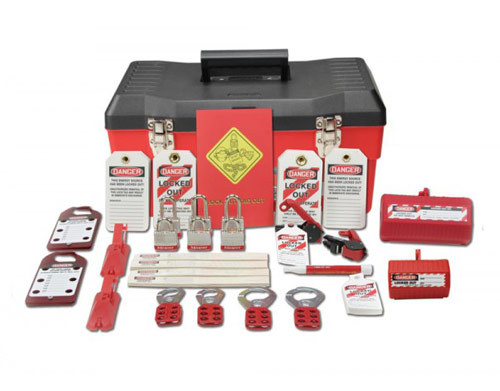 Deluxe Lockout Kit Accuform, Lockout/Tagout Kits - Deluxe Quantity, KSK345