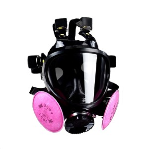 7800S Full Facepiece Silicone Respirator (Large)