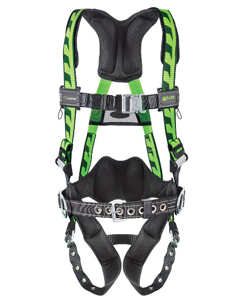 Miller AirCore Harness w/ Steel Hardware MLR-AC | Miller AirCore Harness with Steel Hardware