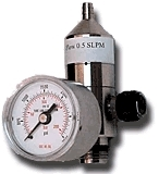 Preset-Flow Regulator for Standard C-10 Calibration Gas Cylinders from All Safe Industries