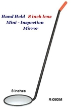 Mini Vehicle Inspection Mirror from Lester L. Brossard Company