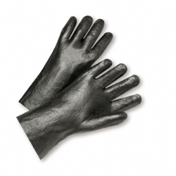 "12"" Semi Rough PVC Glove"