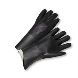 "12"" Rough PVC Glove"