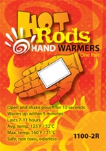 Hot Rods Hand Warmers from Occunomix