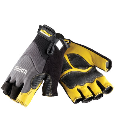 GUNNER Workman's Half Flinger Glove from PIP