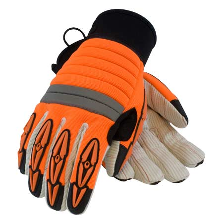 Derrickmen Hi-Viz High Performance Work Glove from PIP