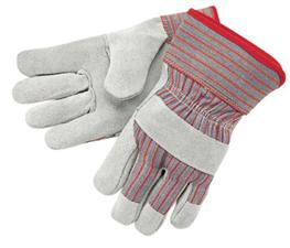 "Memphis 2 1/2"", Leather Palm Gloves, Starched Safety Cuffs from MCR Safety"