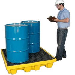 Ultratech Ultra-Spill Nestable Pallet from Ultratech