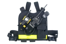 Dual-Twin Radio Chest Harness from R&B Fabrications