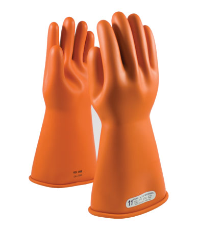 Class 2 Orange Insulating Gloves 14