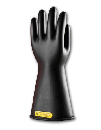 Class 2 Black Insulating Gloves 14
