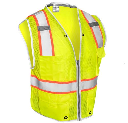 Premium Brilliant Series Heavy Duty Class 2 Vest from ML Kishigo