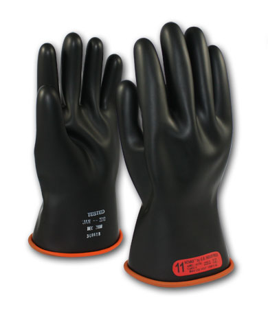 Class 0 Two-Tone Insulating Gloves 11""