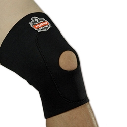 615 Knee Sleeve w/ Anterior Pad and Open Patella from Ergodyne