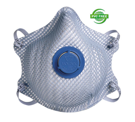 2500N95 Particulate Respirator Plus Nuisance Levels of Acid Gas Irritants - 10/Bag from Moldex