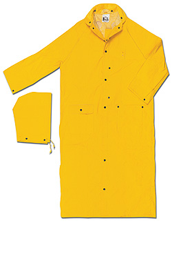 Raincoat 60 inch w/ Corduroy Collar from MCR Safety