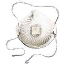 2700N95 Particulate Respirator w/ HandyStrap, Ventex - Size M/L - 10/Box from Moldex