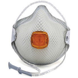2800N95 Particulate Respirator w/ HandyStrap, Nuisance Levels of Ozone & OV Odors - Size M/L - 10/Box from Moldex
