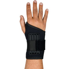 Single Wrap Ambidextrous Wrist Support w/ Stays from PIP