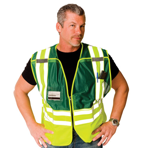 Incident Command Safety Vest from PIP