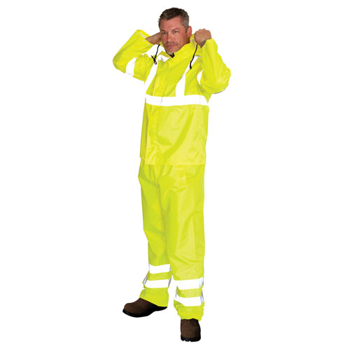 ANSI Class 3 Two-Piece Value Rainsuit from PIP