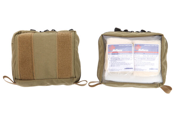 Inside Small Molle Pocket w/ Clear Front from R&B Fabrications