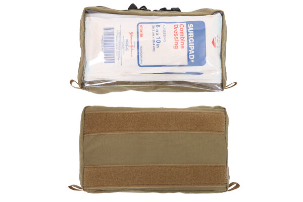 Inside Large Molle Pocket w/ Clear Front