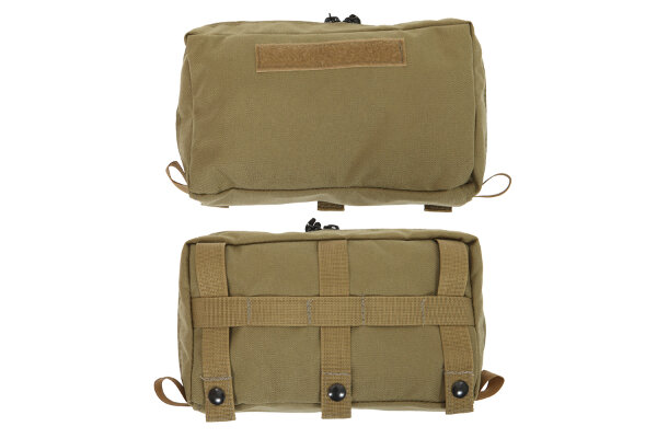 Outside Front Top Molle Pocket w/ Zipper from R&B Fabrications