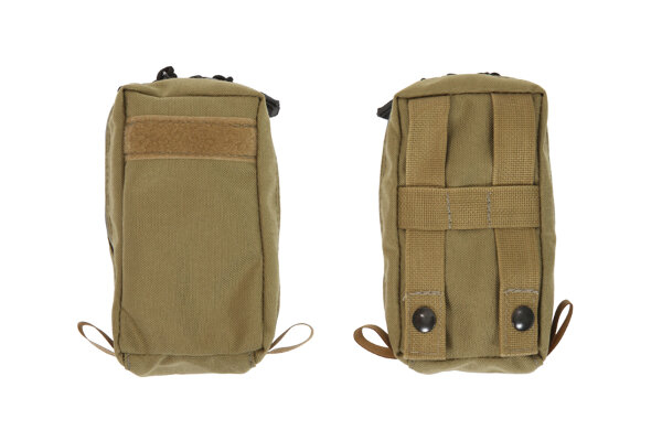 3.5 X 6 Small Outside Side Molle Pocket w/ Zipper from R&B Fabrications