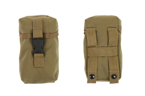 4 X 6.5 Small Outside Side Molle Pocket w/ Flap & S/R Buckle from R&B Fabrications