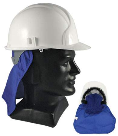 Evaporative Hard Hat Pad w/ Neck Shade from PIP