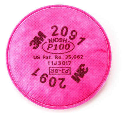 2091 (AAD) Particulate Filter, P100 Respiratory Protection from 3M