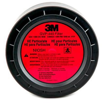 High Efficiency Particulate Filter (HE) from 3M