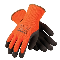 PowerGrab Thermo Hi-Vis Orange Acrylic Terry Shell Glove