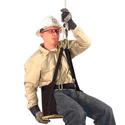 "Arborist Saddles Deluxe Work Seat, 21"" x 16"", No Harness  from French Creek Production"
