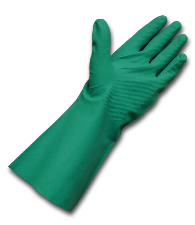 Unsupported Light Weight Nitrile Gloves