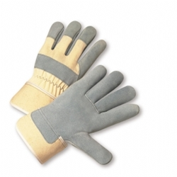 Leather Palm Duck Safety Cuff Glove from West Chester