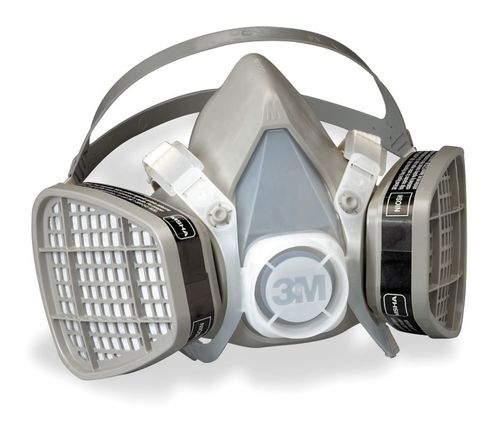 Organic Vapor Half Facepiece, Disposable Respirator Assembly from 3M