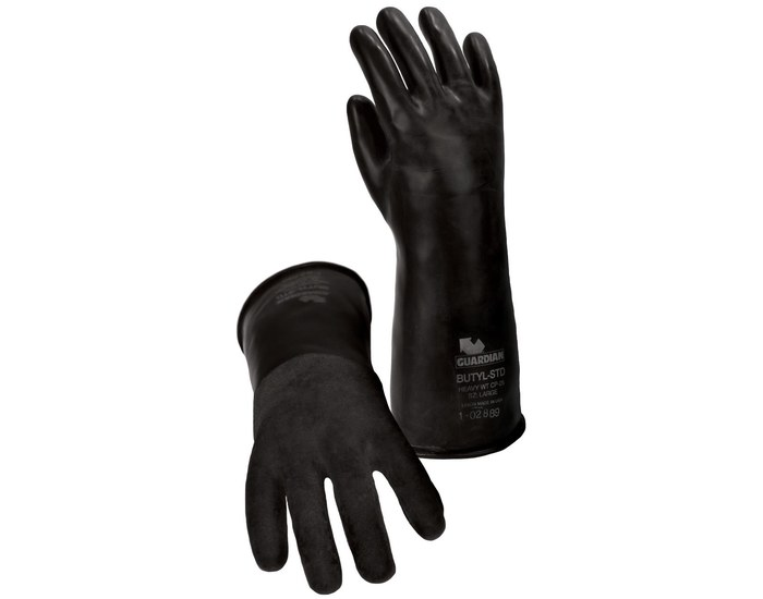 Guardian CP-14R Butyl Rough Chemical Resistant Gloves from Guardian Manufacturing