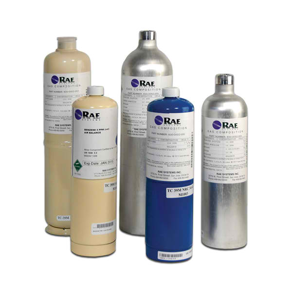 10 ppm Isobutylene Calibration Gas,  34L from RAE Systems by Honeywell
