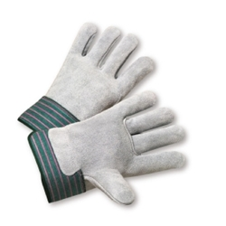 Shoulder Leather Cowhide Palm Work Gloves from West Chester