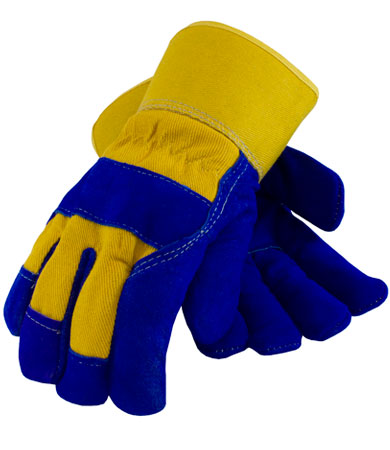 Insulated Leather Palm Work Gloves
