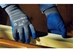 PowerFlex Latex Glove, Blue Rubber Coating from Ansell