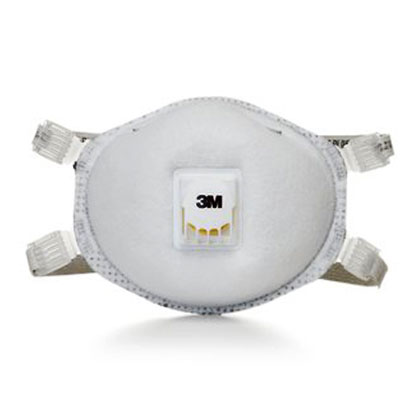 N95 Particulate Welding Respirator w/ Faceseal & Nuisance Level OV Relief from 3M