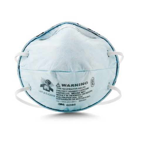 R95 Particulate Respirator 8246 w/ Nuisance Level Acid Gas Relief from 3M