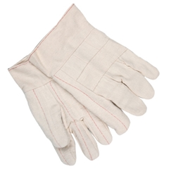 "Memphis Heavy Weight Gloves, 2 1/2"" Band Top, 100% Cotton, Knuckle Strap from MCR Safety"